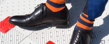 the feet of an Illini