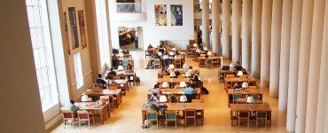 students studying at Grainger Engineering Library