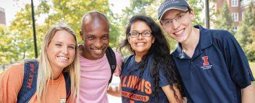 welcoming Illini students
