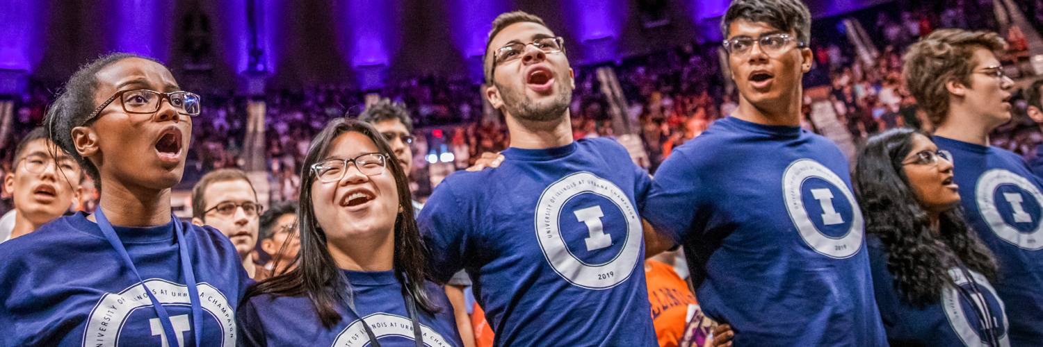 camaraderie and friendship amongst new students at Illinois